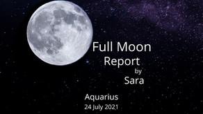 Full Moon in Aquarius 24 July 2021