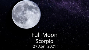 Full Moon in Scorpio 27 April 2021