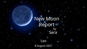 New Moon in Leo 8 August 2021