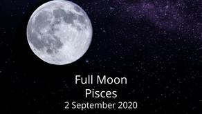 Full Moon in Pisces 2 September 2020
