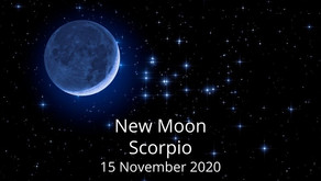 New Moon in Scorpio 15 November 2020