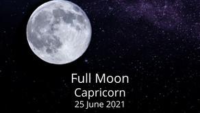 Full Moon in Capricorn 25 June 2021
