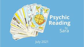 Psychic Reading July 2021