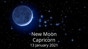 New Moon in Capricorn 13 January 2021