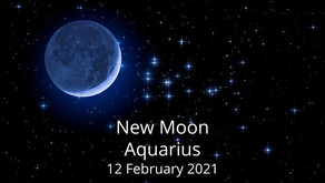 New Moon in Aquarius 12 February 2021