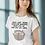 Thumbnail: Never stop trying... ladiesWhite T-shirt