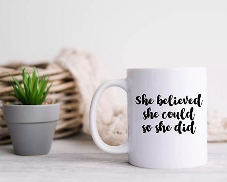 Positive Quote Mugs