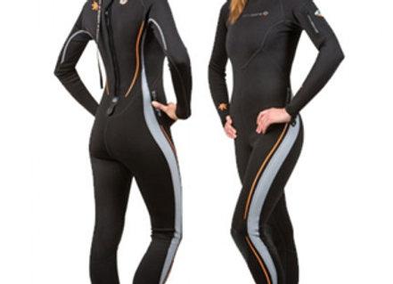 Lavacore Womens Backzip Full Jumpsuit Polytherm Scuba Diving, Snorkeling, Surfin
