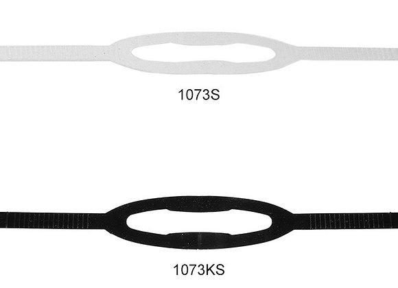 Silicone mask strap