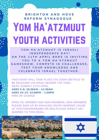 Yom Ha'atzmaut Youth Activity