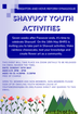 Shavuot Youth Activities for 6 -  9 years and 10 - 13 years