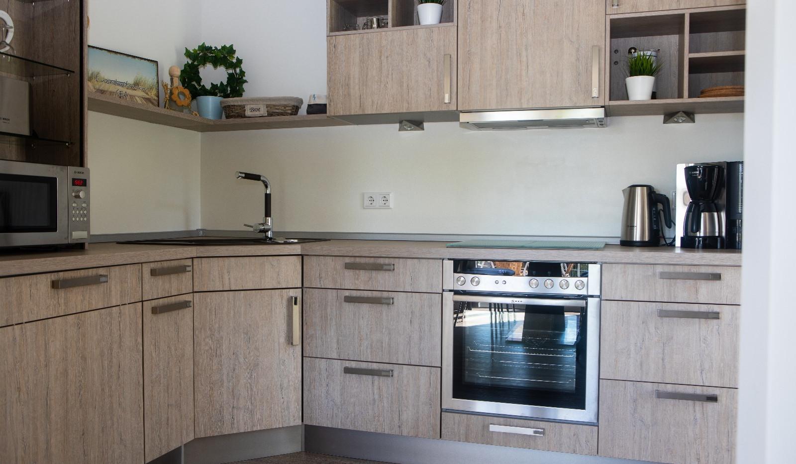 Ferienhaus Paul - komplett ausgestattete Küche