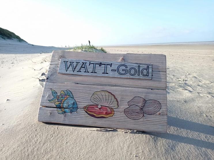 Ferienwohnung Watt-Gold in St. Peter-Ording - Hundeurlaub unter Reet