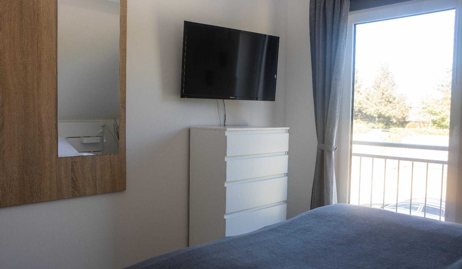 Ferienhaus Paul - Alle Schlafzimmer mit TV
