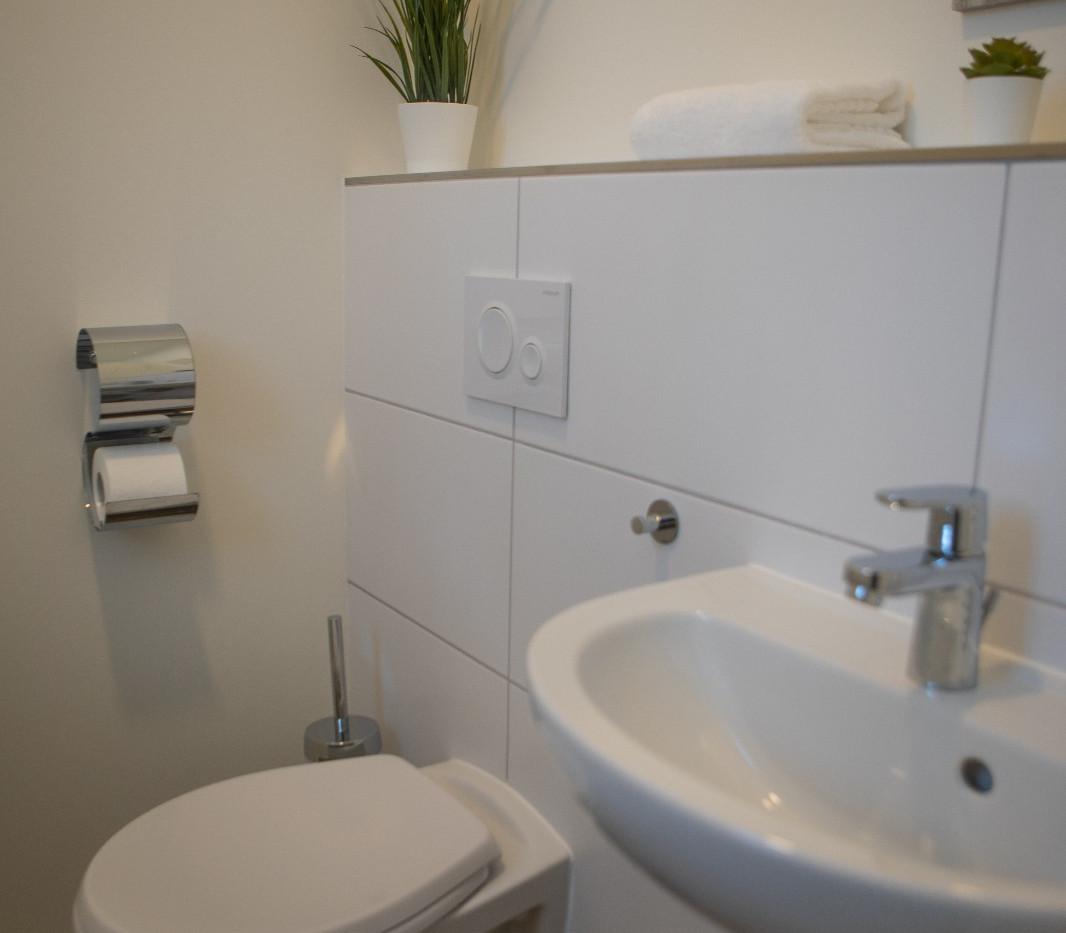 Ferienhaus Paul - Gäste-WC im Erdgeschoss