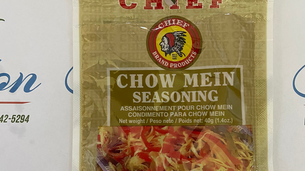 Chief Chowmein Seasoning