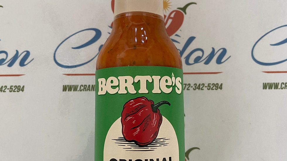 Bertie's Original     Pepper Sauce