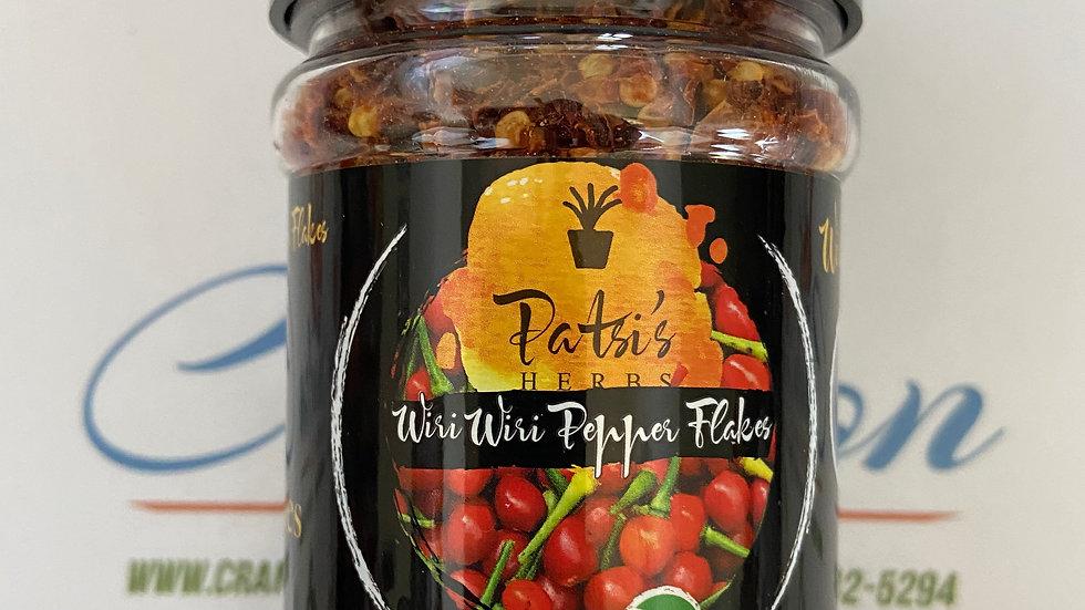 Wiri Wiri Pepper Flakes  2oz