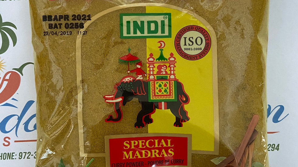 Spicy Indi Special Madras Curry Powder_200g