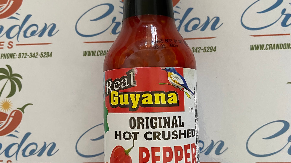Guyana Original      Pepper Sauce          10oz