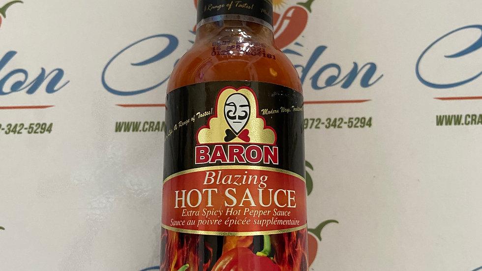 Baron Blazing Hot Sauce