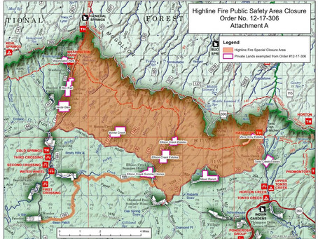 TONTO NATIONAL FOREST STAGE III FOREST CLOSURE