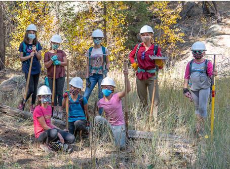 Gear Girls Improve the AZT Near Flagstaff