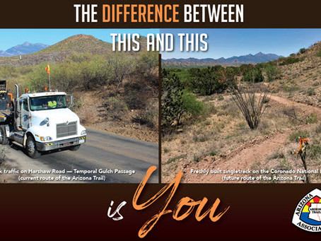 With Your Support, the Arizona Trail is About to Get Better