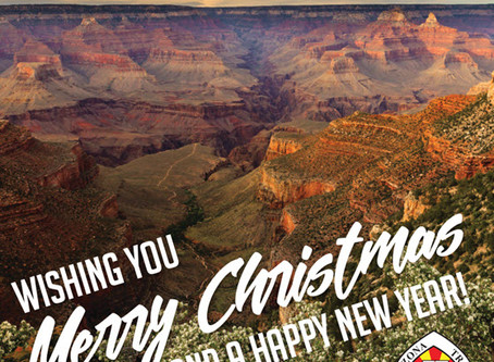 HAPPY NEW YEAR FROM THE ARIZONA TRAIL