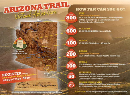 A Letter to All Runners from the Arizona Trail