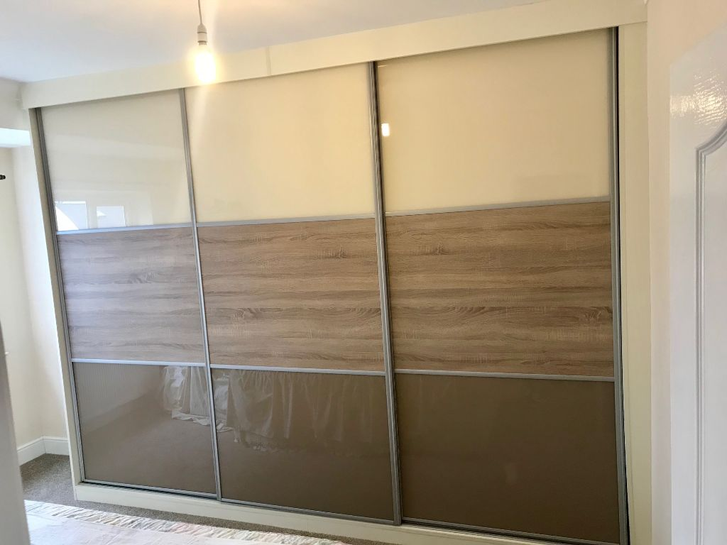 fitted sliding wardrobe combinations