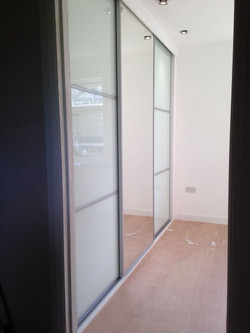 Fitted 3 door sliding wardrobes