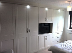 Wardrobe Fitted in Chesterfield