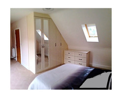 Fitted angled wardrobes - Ashgate