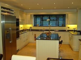 Fitted kitchen design in Derbyshire