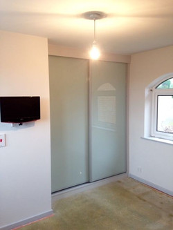 Fitted sliding wardrobe in Dronfield