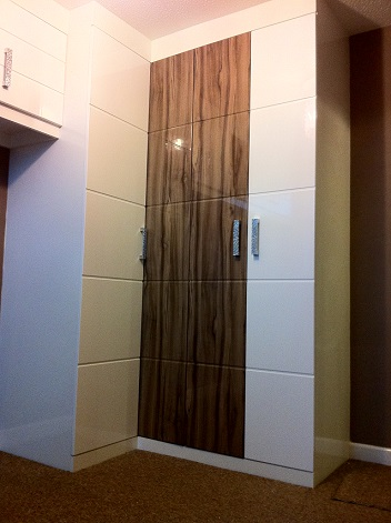 Fitted corner wardrobe -Chesterfield