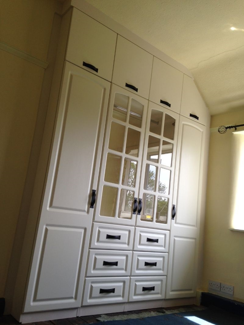 Built in fitted wardrobe in Ashgate