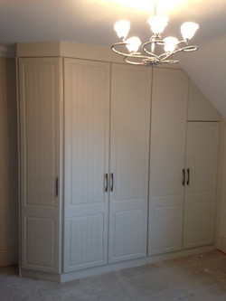Sloping wardrobe fitted - Palterton