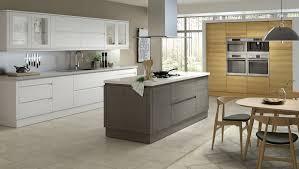 Handless fitted kitchen designs