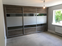Fitted sliding door wardrobe designs