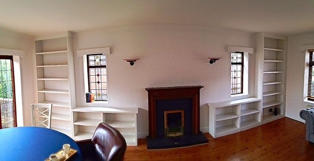 Bespoke fitted bookcases - Sheffield