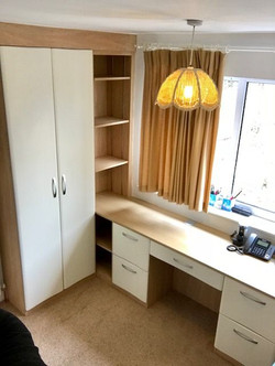 Fitted home office furniture, Wingerworth, Chesterfield