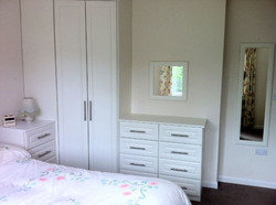 Fitted corner wardrobes in Buxton
