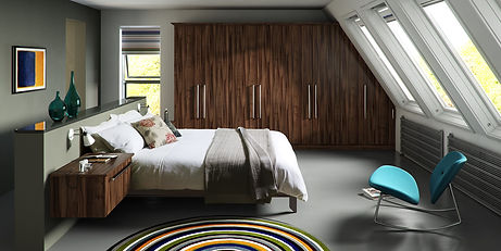Fitted Bedroom Furniture  - Fitted Wardrobes Sliding or Hinged doors all made to measure. Chesterfield, Sheffield, Derbyshire