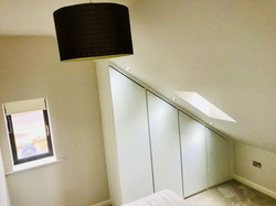 Fitted sloping wardrobes - Sheffield