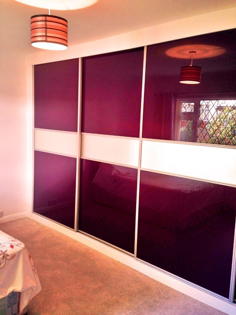 Modern fitted sliding door design