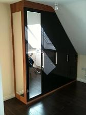 Fitted attic wardrobes in Sheffield
