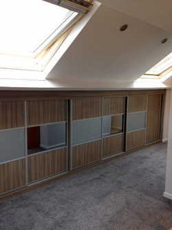 Fitted sloping furniture - Sheffield