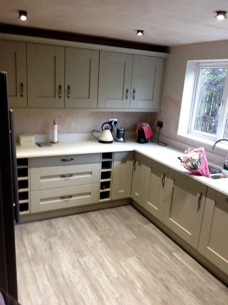 Fitted kitchen design in Barlborough